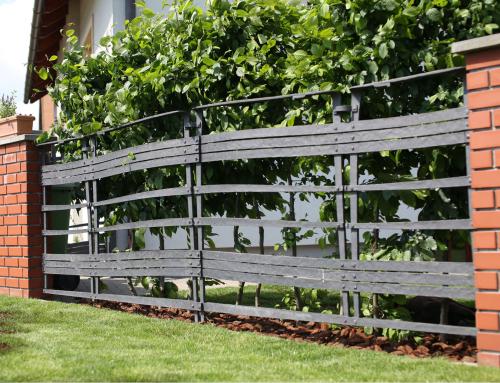 Kované oplotenie (plotový diel)