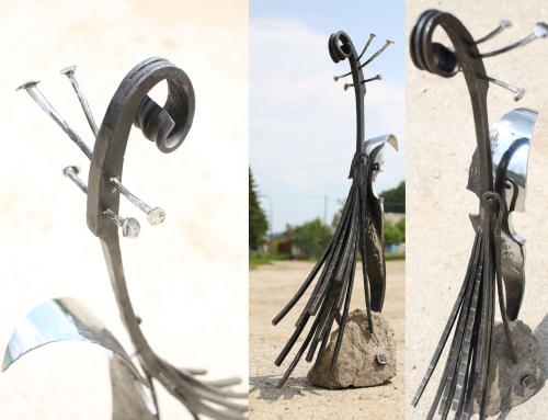Kovaná socha (plastika)
